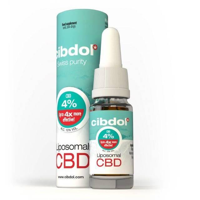 Olejek liposomalny 4% CBD -10 ml - Cibdol